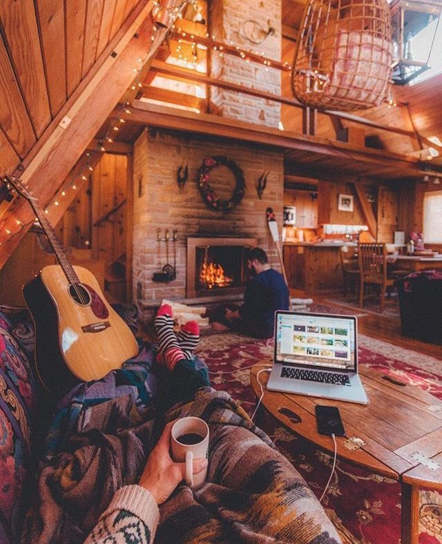 Cabin Interior Design Ideas log home interior design 21 rustic log cabin interior design ideas style motivation best decor Nice Interior Slavs Style The Placement Of Fireplace And Stairs Are Ideal Wish