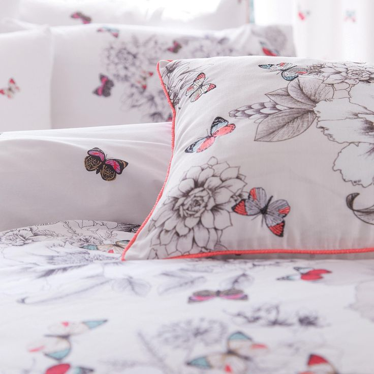 Accessorize White floral butterfly bedding set   Bedding   Debenhams com. 7 best Christmas bedding images on Pinterest   Blue christmas