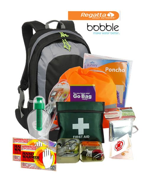 Emergency Large Go Bag+Survival Tin - Jehovah's Witness Theocratic Supplies Go Bag Survival Kits