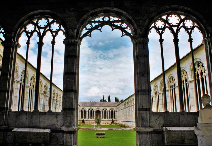 Monumental cemetary (Composante Monumentale) Pisa, Italy