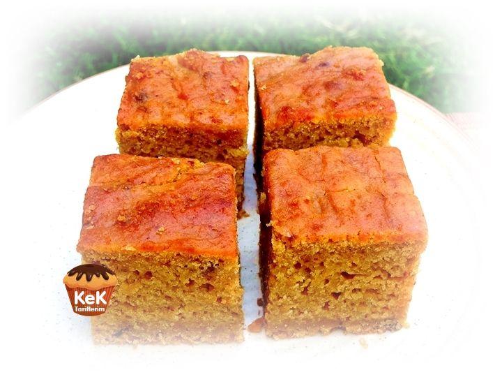 Hurmalı ve Portakallı Vegan Kek