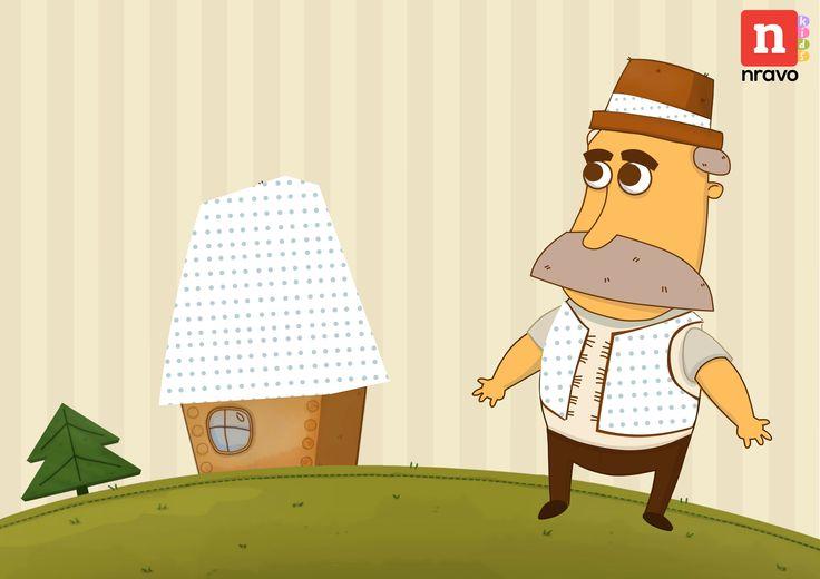 Аплікація для круп.  Позначені крапочками місця намащуємо клеєм та засипаємо певним видом крупи.  Креативте з разом із своїми кухонними запасами.