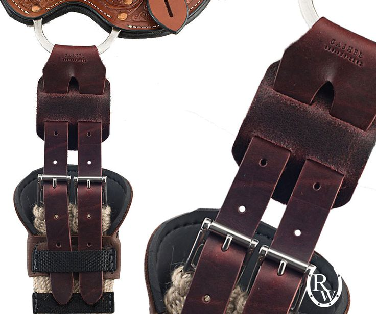 English girth on a on a Western saddle? It's totally possible with the Cashel Rigging Converter!