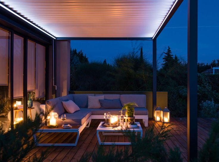 20 best images about terrasse et balcon on pinterest villas coins and cuisine. Black Bedroom Furniture Sets. Home Design Ideas