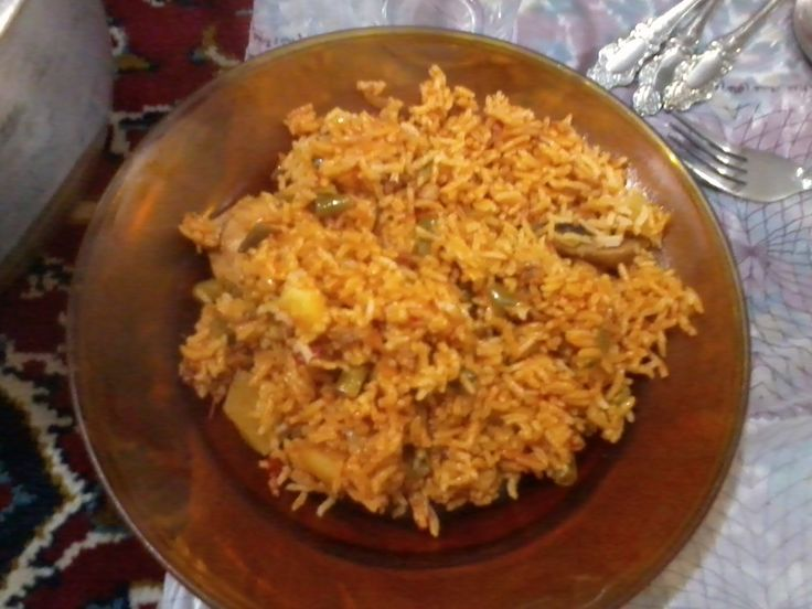 Rice and beans لوبیا پلو