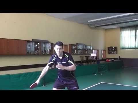 Vorhand/Forehand-Topspin Technik/technique [Eng _subbed] - YouTube