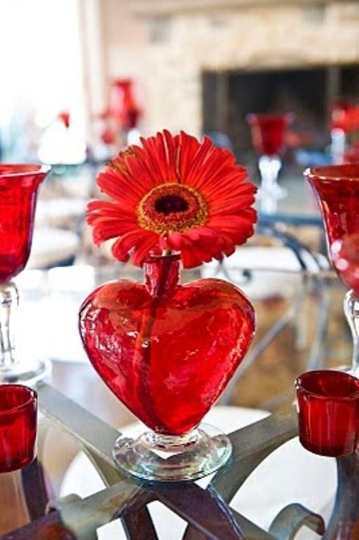 valentines day centerpiece idea
