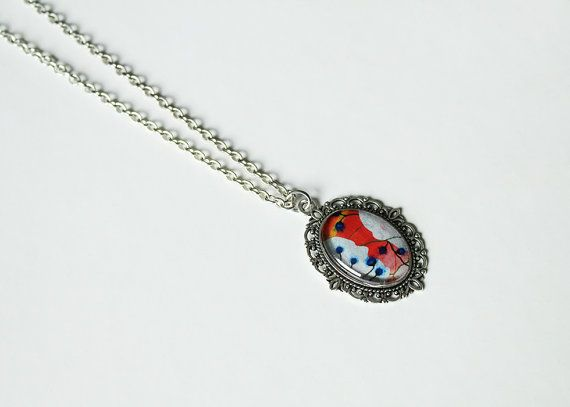 Skulls. This necklace is a part of a brand new line of one of a kind, unique charm necklaces sold only by Say Bye Twice.