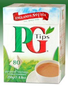 Pg Tips is my favorite tea, it's the best way to start my day.