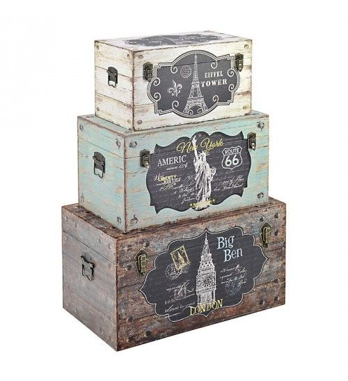 S_3 WOODEN_CANVAS TRUNK W_EIFFEL 65X38X35