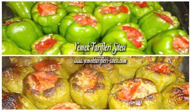İzmir Usulü Biber Dolması Tarifi | Yemek Tarifleri Sitesi - Oktay Usta - Harika ve Nefis Yemek Tarifleri
