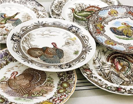 Turkey plates...love them!