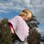 glamour crochet poncho for children | Kids Crochet Poncho Waffle Cone Slouchy Hat Knitted Kids Poncho God ...