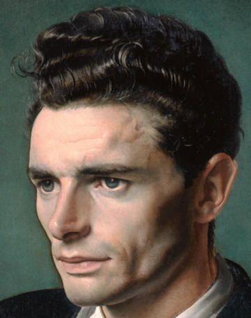 Pietro Annigoni | El Arte y su mundo  autorretrato, olio su tela.