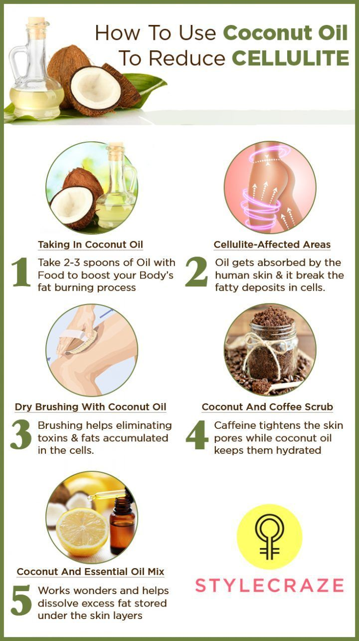 coconut oil in hair how to use