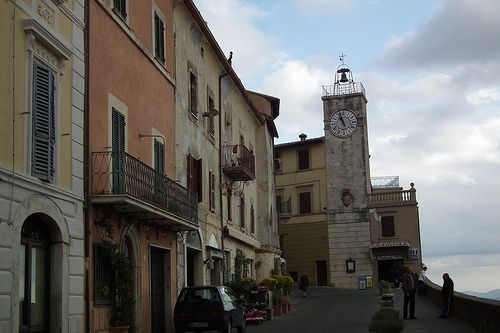 Clock tower, Chianciano Terme #TuscanyAgriturismoGiratola