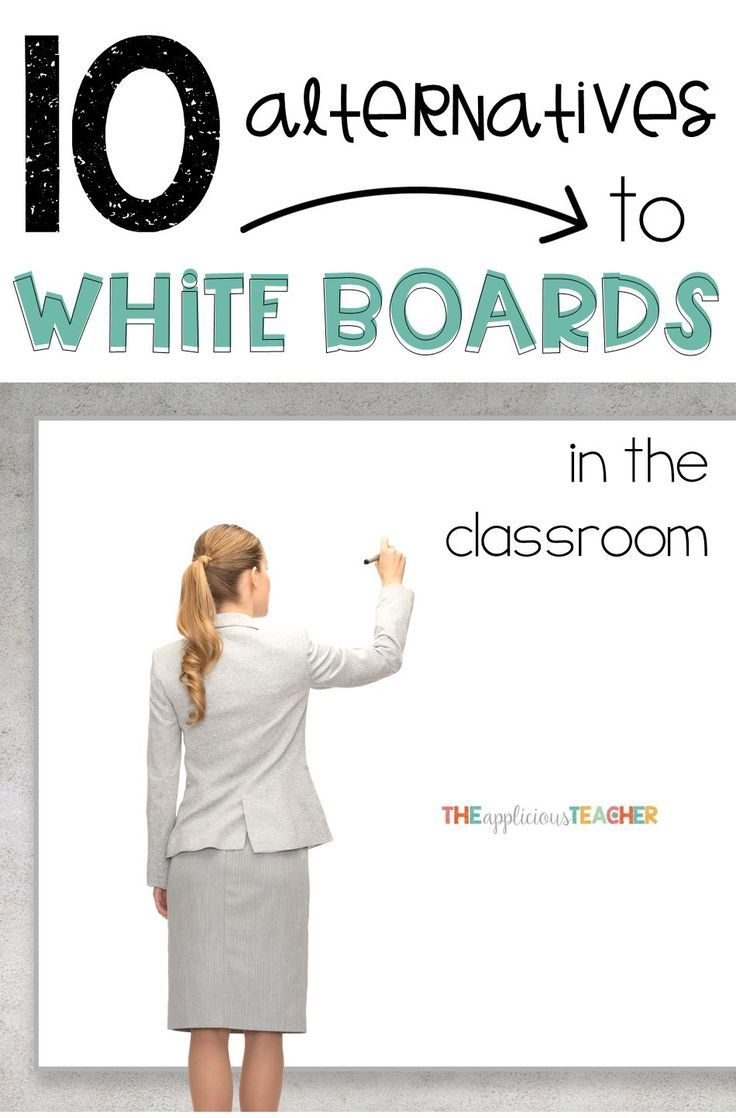 Don't get me wrong... I love white boards, but here's 10 other dry erase friendly surfaces you could use instead!