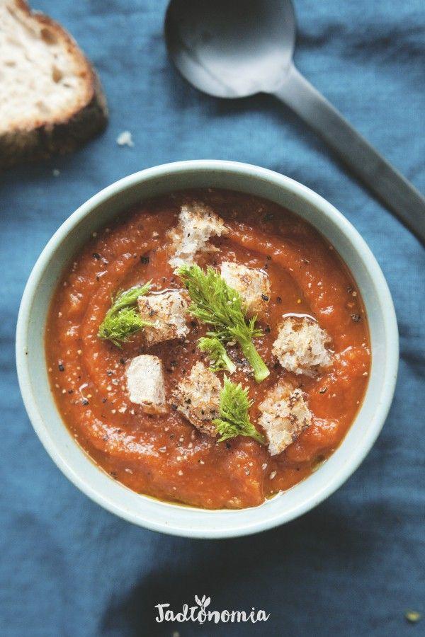 Miłosny krem pomidorowy