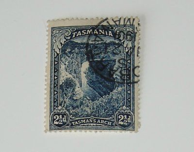 Stamp Pickers Tasmania 1899-1900 Arch 2.5d Scott #89 VFU CDS $18+