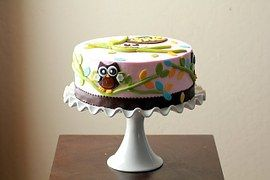 Kuchen, Baby Dusche, Eulen, Entwürfe