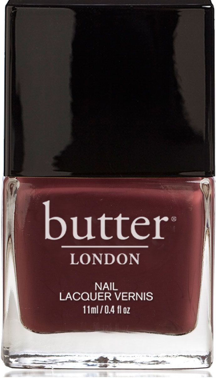 A dark chocolate nail lacquer. Delicious and forbidden, but not particularly sweet, like teenage English boys.
