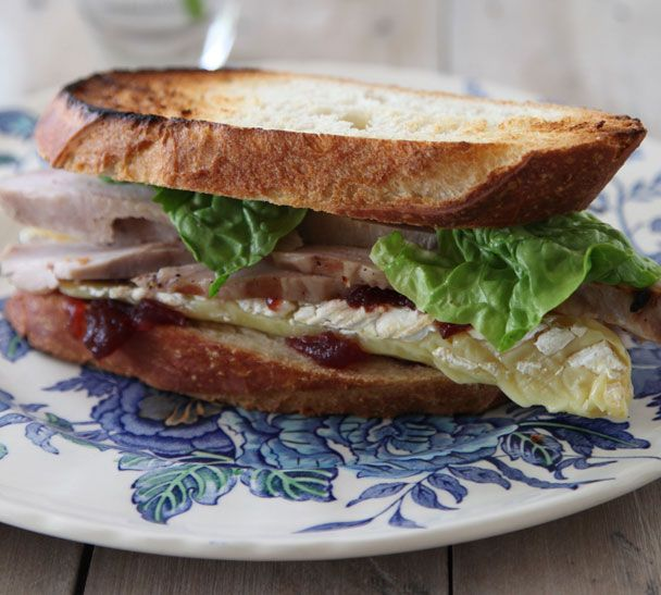 Turkey and Brie Boxing Day Sandwiches