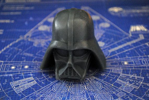 Handmade Darth Vader Soap  Star Wars Christmas gift by NerdySoap