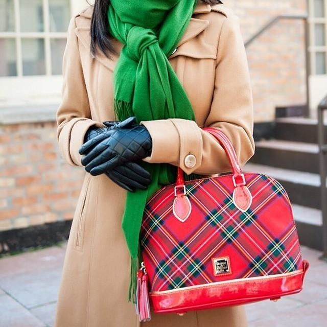 Statement Bag - Plaid Please 12 by Leo by VIDA VIDA z3pkaw