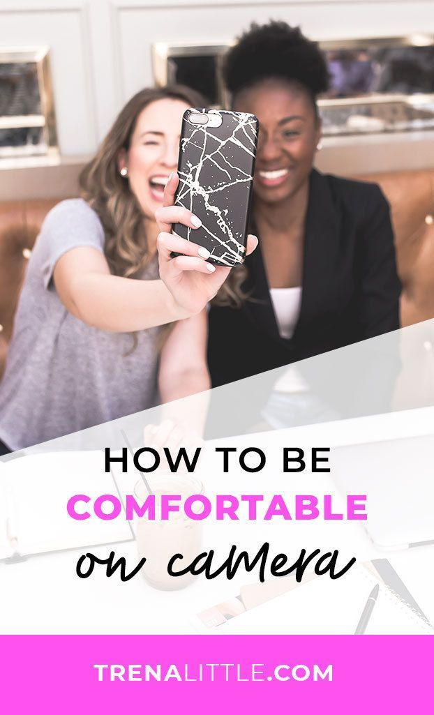 How To Be Comfortable On Camera Videos Youtube Und Marketing