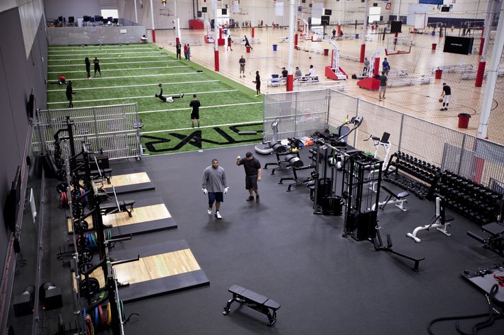 Our installation at stars training facility is as top for Athletic training facility design