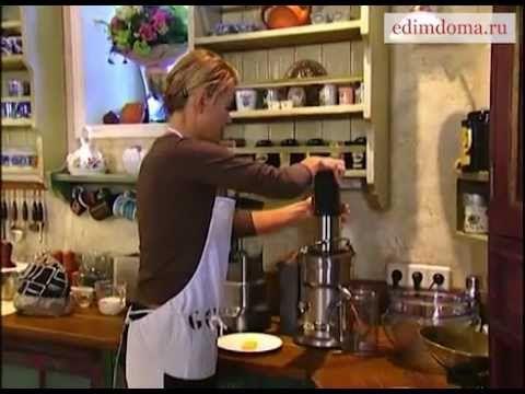 рецепт плюшек с вишней от Юлии Высоцкой