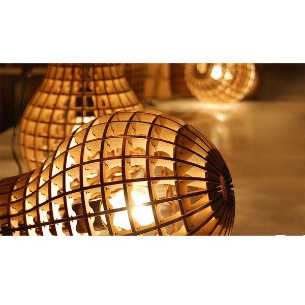 Wooden Bulb - Room99