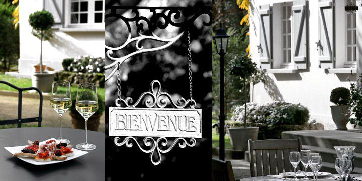 Villa de l'Etang Blanc - Hotel 3 etoiles, restaurant gastronomique - Seignosse, Landes, Aquitaine, France.