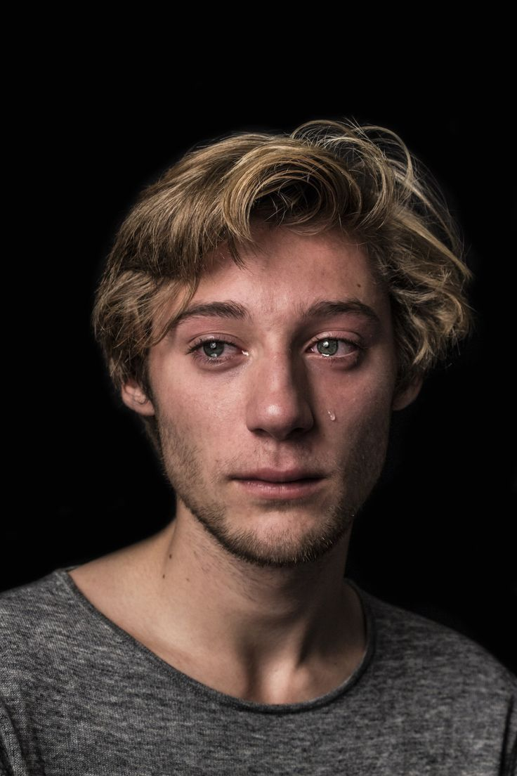 Maurits, 19 | 18 Photos Of Men Crying That Challenge Gender Norms