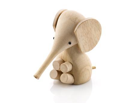 Gunnar Flørning, babyelefant i tre