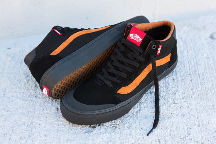 Vans - Dakota Roche 112 Style Mid Pro Shoe  Details: http://bmxunion.com/daily/vans-dakota-roche-style-112-pro-mid/  #Vans #shoes #fashion #style #orange #black #bmx #bicycle #stylish #shoe