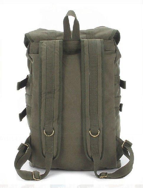 canvas Backpack | Canvas rucksack backpack, best laptop backpack for travel - BagsEarth