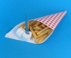frietzakje met frietjes