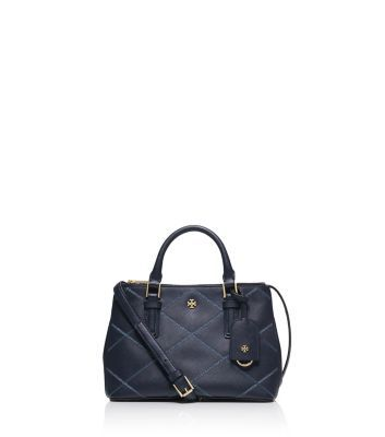 Tory Burch Robinson Stitched Micro Double-zip Tote