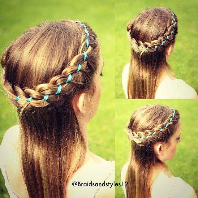 Sensational 1000 Images About Girls Hairstyles Videos On Pinterest Cute Short Hairstyles Gunalazisus