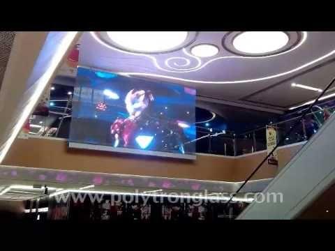 polytronglass-LED-экран