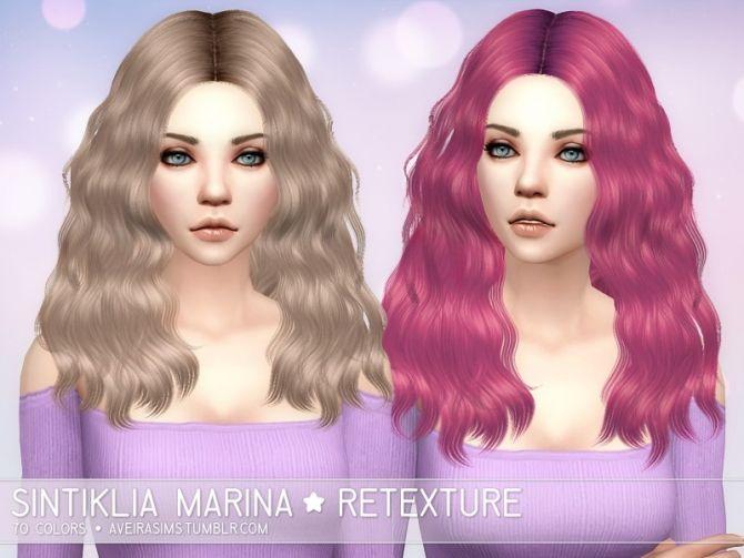 Sintiklia Marina Retexture at Aveira Sims 4 via Sims 4 Updates