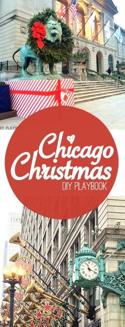 Visiting Chicago over the holiday season? Here are 10 things to do in Chicago for Christmas. Such an awesome city!