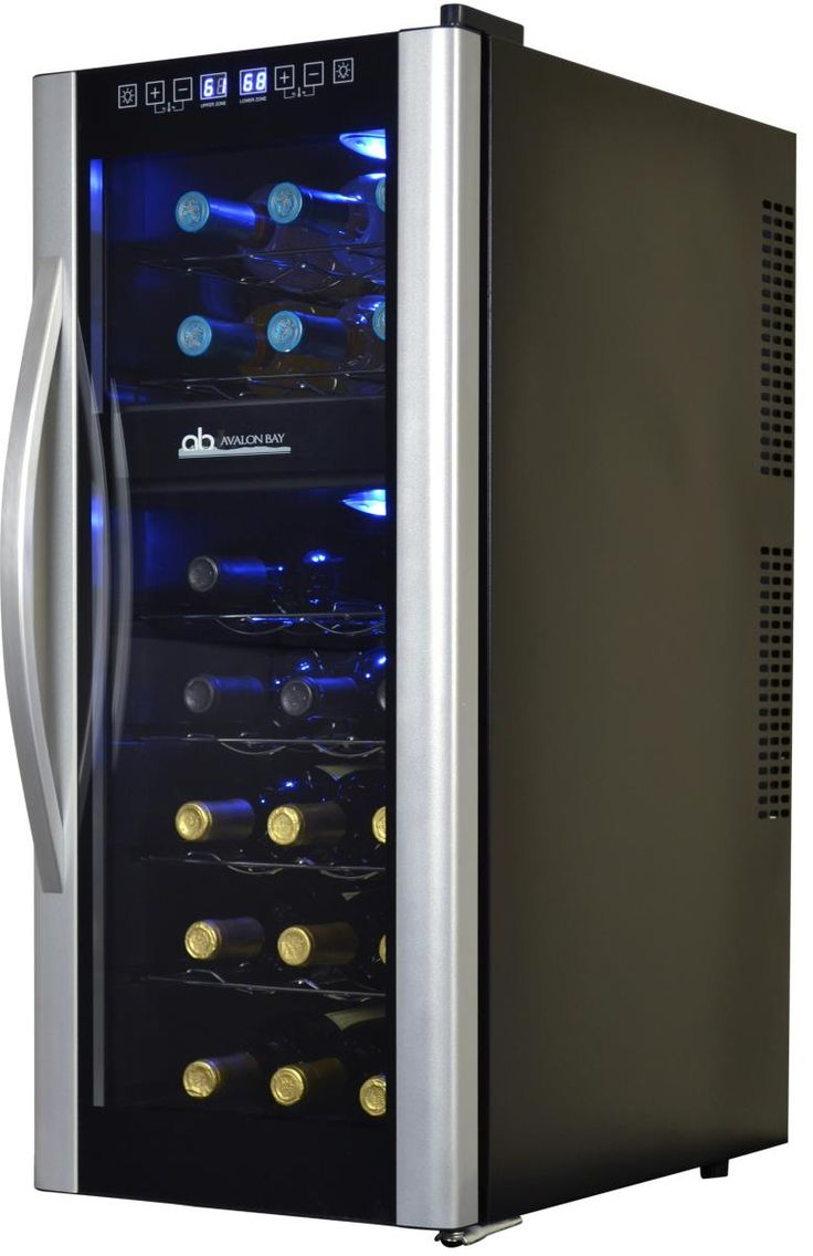 Awesome Dual Temp Wine Cooler