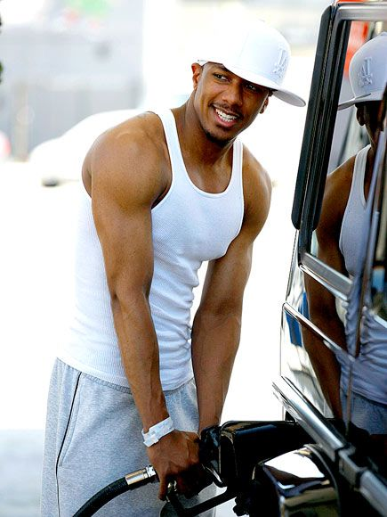 Nick Cannon. I love when he wears snapbacks.