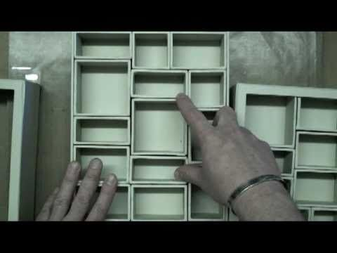 YouTube Tim Holtz configurations basics (part 1 of 2) explains the shadow box and the supplies needed. There is a part 2, a Christmas box & others!