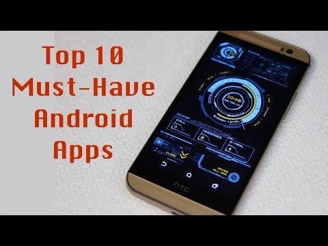Top 10 Best Android Apps 2015 - YouTube