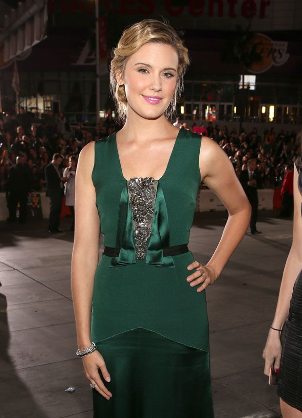 Maggie Grace - 'The Twilight Saga: Breaking Dawn - Part 2' LA Premiere