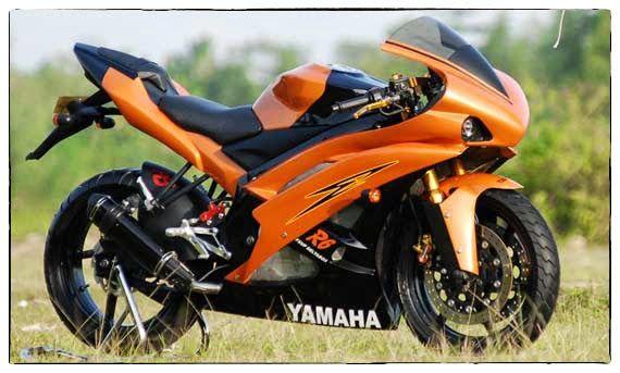 Modifikasi Motor Yamaha Vixion Desain Motor R6