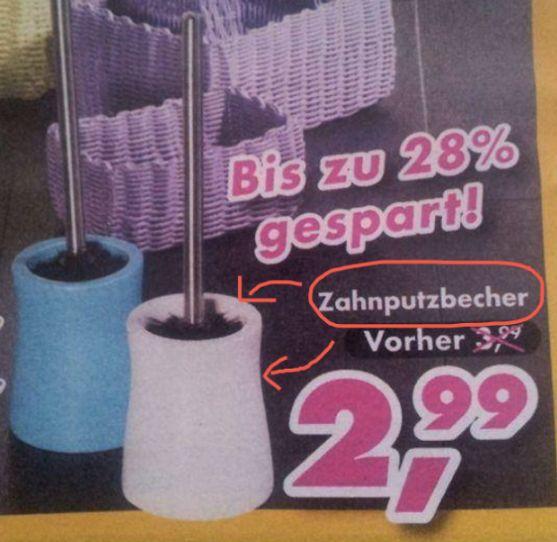 Wie praktisch, eine Zahnbürste ist auch dabei! | 28 Beweise, dass deutsche Supermärkte total die Kontrolle verloren haben